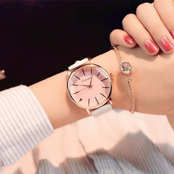Đồng hồ đeo tay nữ mặt tròn