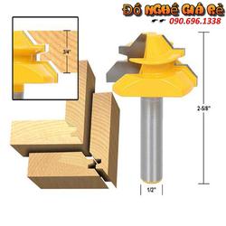 Dao ghép ván gỗ 45 độ dày 24 mm