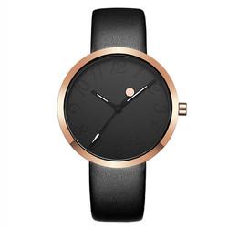Đồng hồ thời trang nữ CRRJU dây da mềm - Mã số: DHN1704