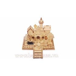 lắp ghép bằng gỗ thông minh - Lâu đài của hoàng tử và công chúa