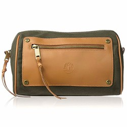 Ví Du Lịch Timberland Canvas Leather Travel Kit Olive Green