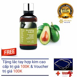 Tinh Dầu Dưỡng Thể Botani Nourishing Body Oil BPSO006 50ml