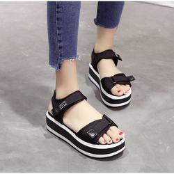 Giày Sandal Nữ kiểu dáng thời trang phong cách Hàn Quốc