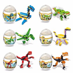 Combo 02 lego xếp hình trứng khủng long