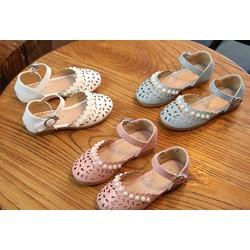 giày bé gái đính ngọc  - giày Hàn quốc - giày học sinh