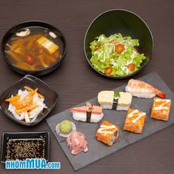 Set ăn trưa Nhật Bản đặc biệt giá cực sốc tại Samurai BBQ