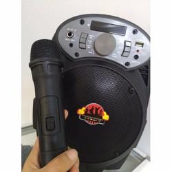 Loa bluetooth karaoke A6 tặng kèm micro không dây