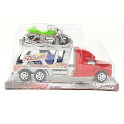Hộp kiếng xe container chở 1 xe hơi + 1 xe motor - K96-5