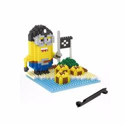 Bộ đồ chơi lego xếp hình minions – tên cướp biển