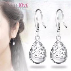Bông tai giọt nước thời trang Hàn Quốc lấp lánh ánh sao SPE-EH140