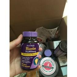Viên uống mọc và chống rụng tóc Biotin 10.000mcg