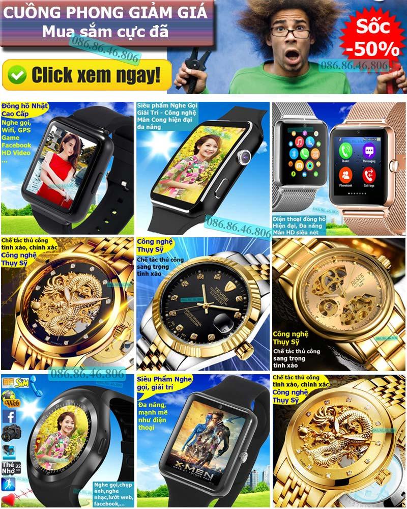 Đồng hồ thông minh Nhật siêu phẩm nghe gọi giải trí 31