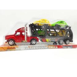 Hộp kiếng xe mô hình container 2 tầng chở xe hơi - K97-3