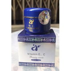 Kết quả hình ảnh cho Kem Dưỡng Trắng Da mờ thâm Vitamin e c beauty cream