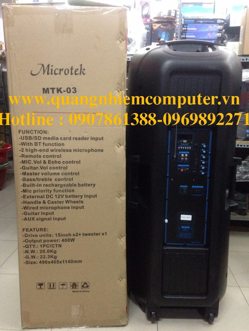 Loa Kéo Microtek 03 3
