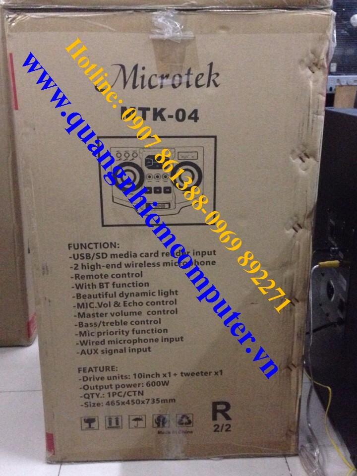 Loa Kéo Microtek 04 9