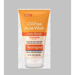 Sữa Rửa Mặt Neutrogena Oil Free Acne Wash Daily Scrub