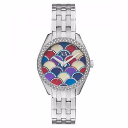 Đồng Hồ Armani Exchange Multi-Colored Mosaic Dial Stainless Steel