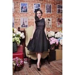 Đầm Vintage Ren Caro