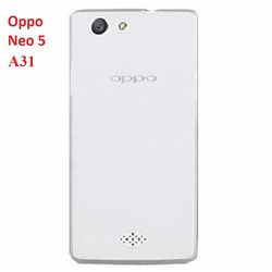 Ốp lưng Oppo Neo 5 A31 - silicon dẻo trong suốt