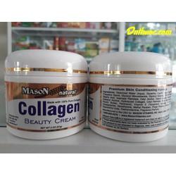 Kem dưỡng da Collagen Mason giúp giảm thâm nám, mờ nếp nhăn