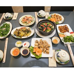 Thưởng thức món ngon từ Cá lăng tươi dành cho 0406 người tại nhà hàng Muối