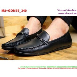 Giày da mọi nam thiết kế sang trọng lịch lãm GDM55