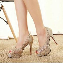 giày cao gót 12cm