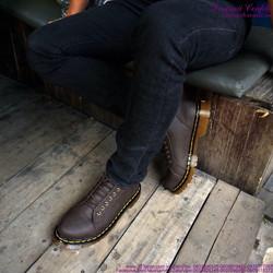 Giày doctor nam cổ lửng phong cách bụi cực chất cực bền GDOC39