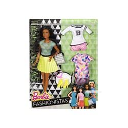 Barbie Fashionistas - 34 B thời trang và phụ kiện