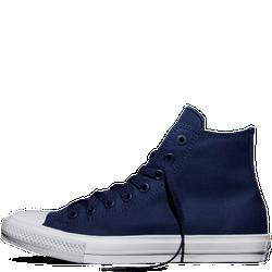 Giày Vải Chuck II Xanh Đậm Cổ Cao - Nam
