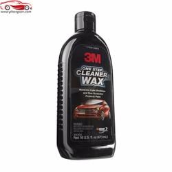 Đánh bóng xóa xước bảo vệ sơn 3M One Step Cleaner Wax 473ml