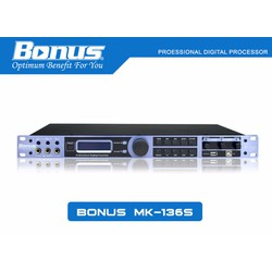 Vang số, mixer digital karaoke Bonus Audio MK-136S chuyên nghiệp.