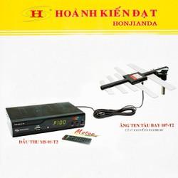Bộ Đầu Thu Truyền Hình Kỹ Thuật Số và Anten Tàu Bay MS 01 AT 107