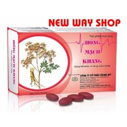 HỒNG MẠCH KHANG - Hỗ trợ điều trị huyết áp thấp, tuần hoàn máu,..