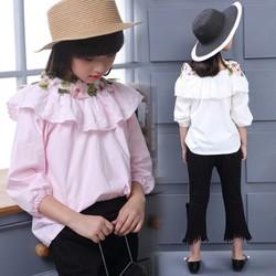 [17-40Kg] Áo Somi Nhập Đính Hoa 3D Cực Đẹp