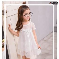 Đầm ren trẻ em