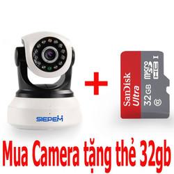 Camera IP WiFi Siepem 6302Y Pro