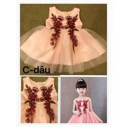 Đầm dạ hội cho bé gái