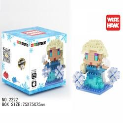 Mô hình 3D - Công chúa Elsa