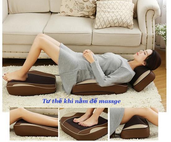 Đệm massage toàn thân 3 mảnh rời nhập khẩu-0965.011.567 5