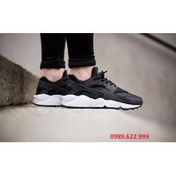 Giày Nike Huarache 2014 đen trắng SF nam nữ NHC12