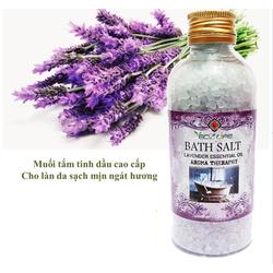 Muối tắm trắng tinh dầu oải hương Ecolife 200g
