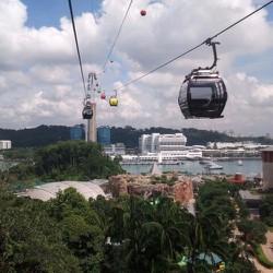 Round Trip Singapore Cable - Cáp treo sang đảo Sentosa -NGƯỜI LỚN