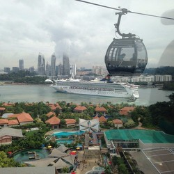 Round Trip Singapore Cable - Cáp treo sang đảo Sentosa - TRẺ EM