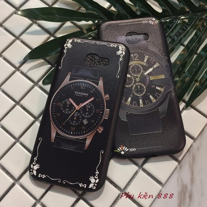 Ốp lưng dẻo Samsung Galaxy A5 2017 đồng hồ 1