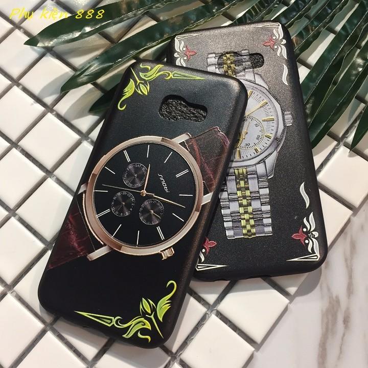 Ốp lưng Samsung Galaxy J7 Prime đồng hồ 5