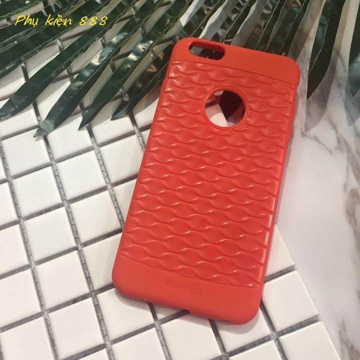 Ốp lưng silicon 6 Plus vân sần Verus 5