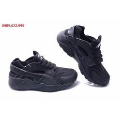 Giày Nike Huarache 2014 nữ đen full NHC01