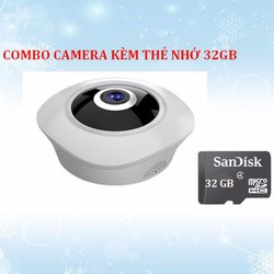 Combo camera không dây 3D 1.3MP kèm thẻ nhớ 32GB
